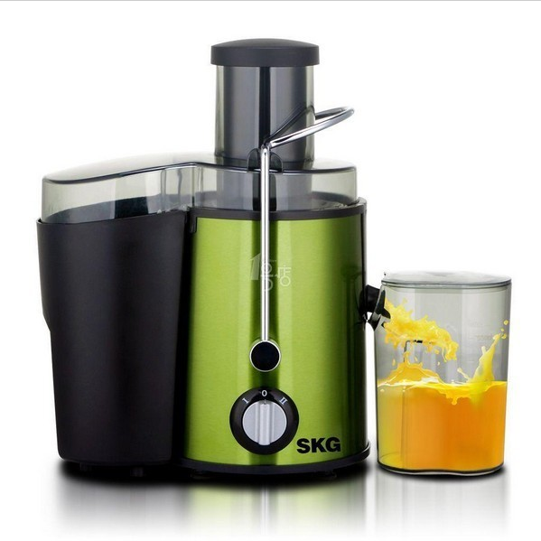 Skg zz1305 mini stainless steel multifunctional juicer electric fruit baby juice machine color coated steel