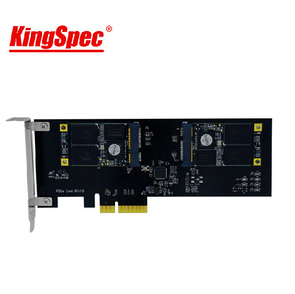 kingspec Multicore Series Pci-E Express 2.0 card 512GB SSD Solid State disk HDD internal card for PC server Gamer/laptop/desktop<br><br>Aliexpress