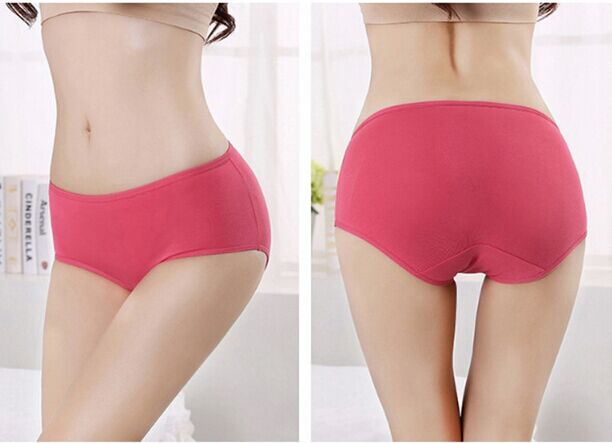 2015 high quality brand underwear women briefs comfortable and breathable cotton women panties 7 Piece boxed intimates(China (Mainland))