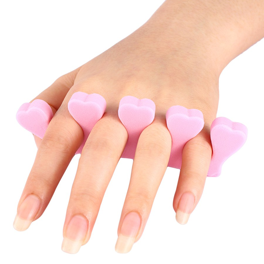 Y28 new 1Piece Nail tools Sponge sub-toe Soft Points Finger Cotton Toe Nail Polish Compartment Toe Separator For Women Beauty