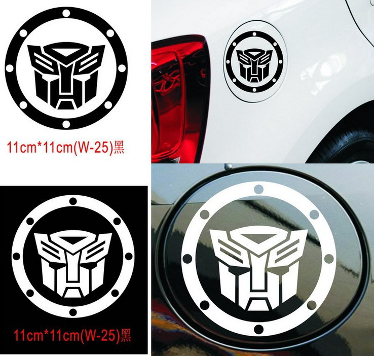 Reflective Personality Transformers Car Stickers Bonnet Hood Body Window Car Styling Golf 7 Stickers Removable<br><br>Aliexpress