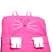 Pokemon Go 140*60cm Cartoon Child Sleep Flat Sheet Slumber Pillow Bedding Bag Hot Pink Rabbit