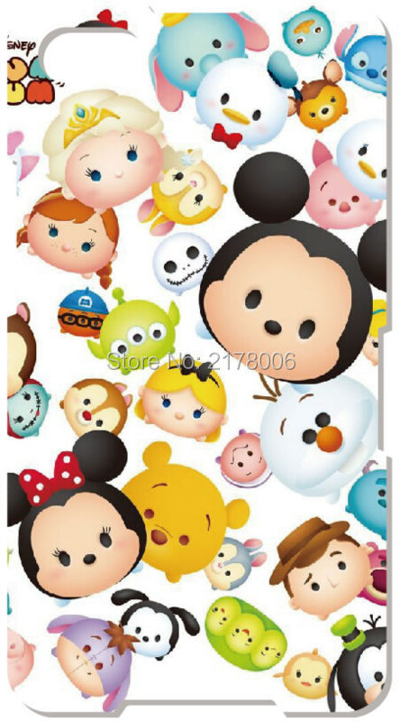 Painting Tsum Tsum Cover For BlackBerry Z10 Z30 Q10 For Samsung Galaxy S3 S4 S5 Mini S6 S7 Edge Note 3 4 5 Cell Phone Case(China (Mainland))