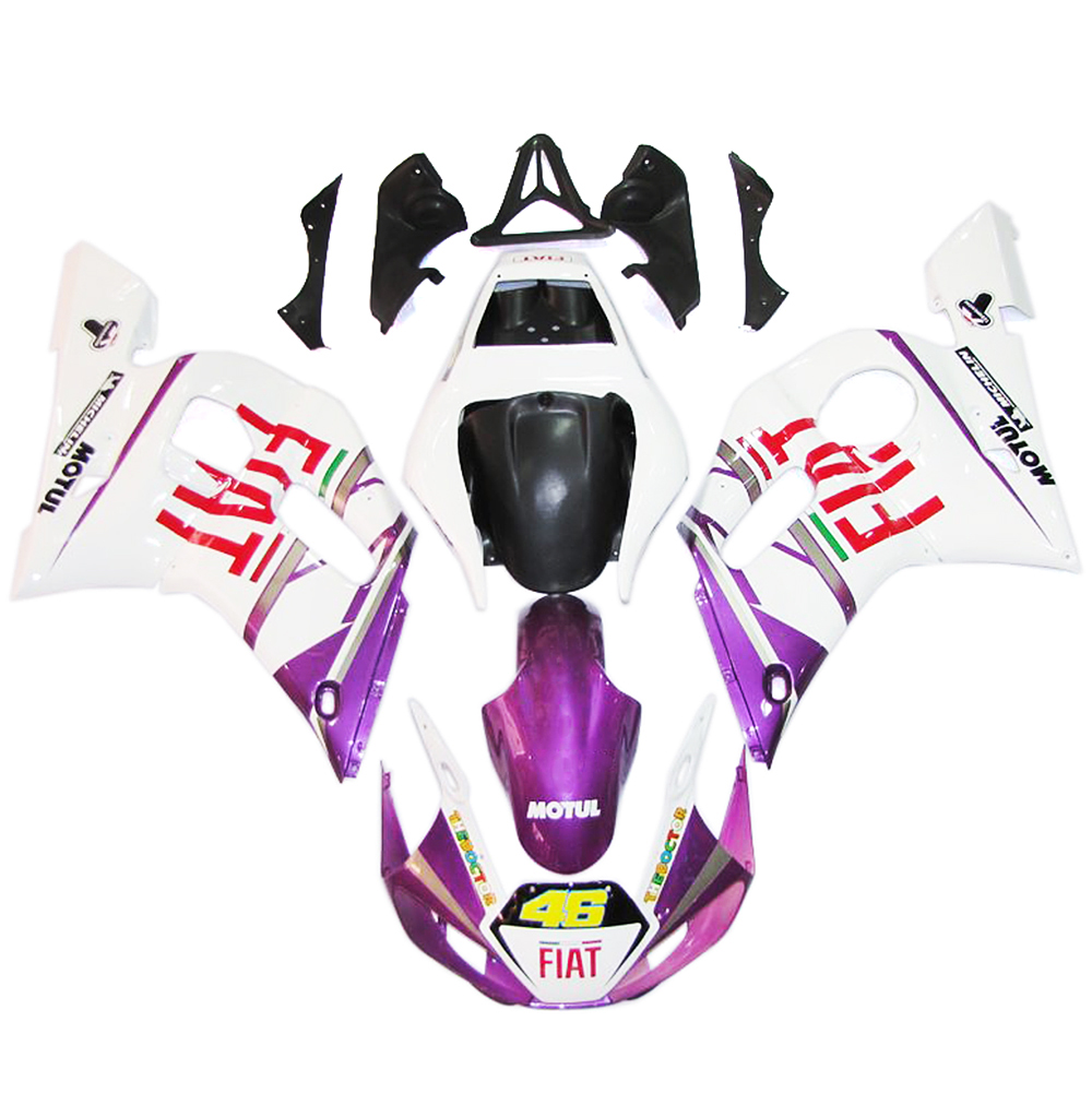 Injection Fairings For Yamaha YZF600 R6 98 99 00 01 02 Plastics ABS Motorcycle Full Fairing Kit Bodywork Cowling Purple Fire(China (Mainland))