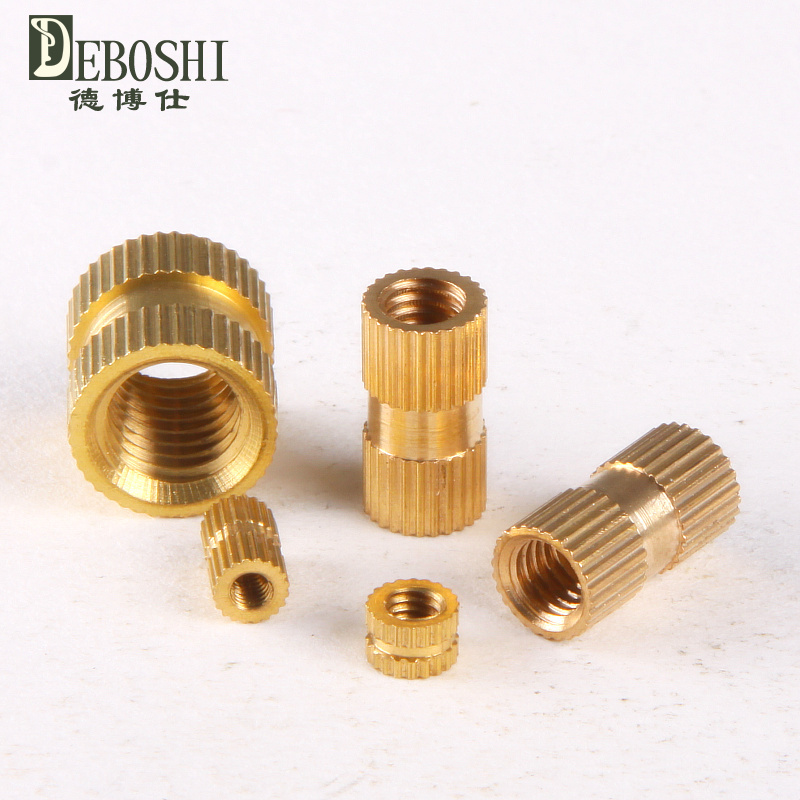 Гаджет  Copper inserts / Inserts / embedded copper / copper flower mother / cylindrical knurled nut M4 * 4-6mm None Аппаратные средства