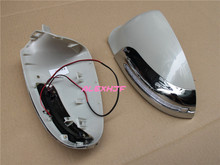 LED Dedicated Rear view Mirror Lights with Cover Yellow LED Turn Signals Light case for Buick