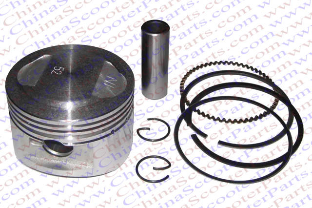 Performance 52mm Piston Rings Kit font b GY6 b font 120CC Jonway Jmstar Yiying Wangye Baotian
