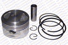 Performance 52mm Piston Rings Kit GY6 120CC Jonway Jmstar Yiying Wangye Baotian Sunny Keeway Roketa JCL 139qmb Scooter Parts