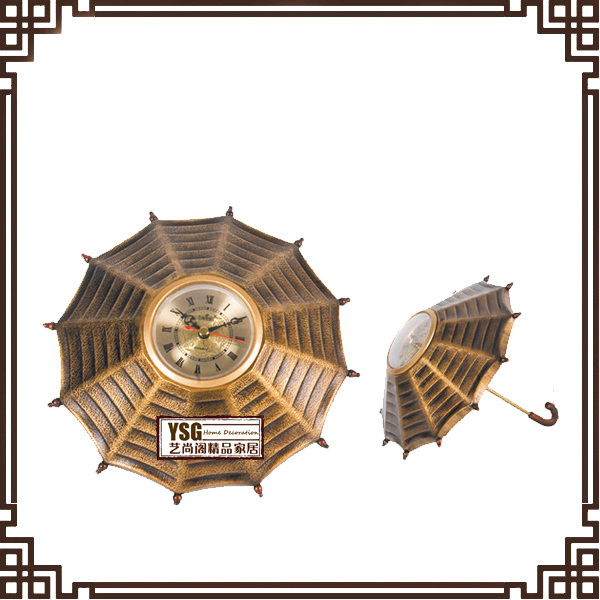 lovely and beautifully table clock home decor crafts art clock manufacturer PC010K(China (Mainland))