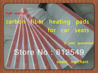 DHL free,600pcs/lot, high quanlity carbon fiber heating pads. it can be used to match car seats factory.