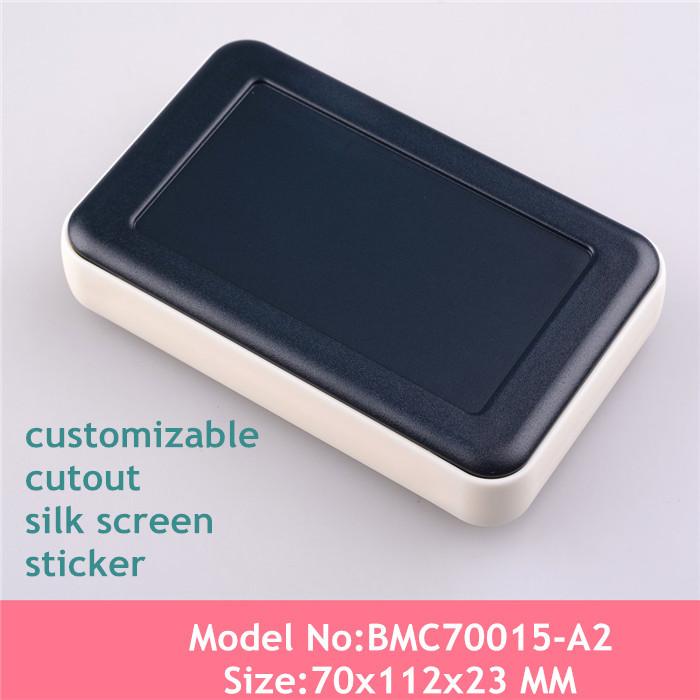 (5pcs/lot) Free shipping plastic handheld enclosure abs plastic box electronics junction box screen enclosure 112*70*23mm<br><br>Aliexpress