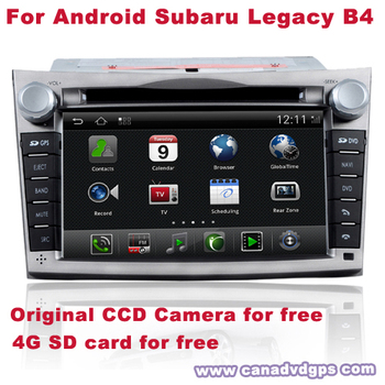 Android Subaru Legacy GPS AV IN 2 Din DVR WIFI 3G CCD Camera SD Card for free Best Quality Best Service Free Shipping+Gifts