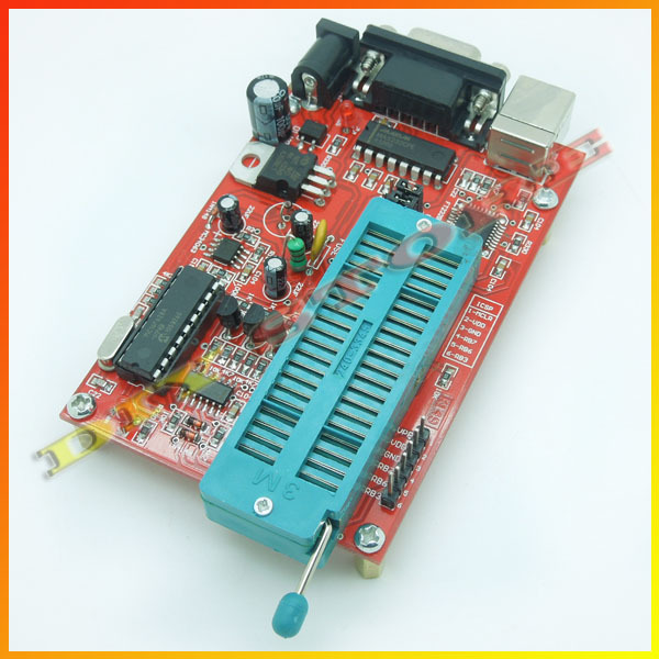 PIC microcontroller/MCU high performance IC Programmer/rom recorder/Writer (USB + RS232 two interfaces) -10000226(China (Mainland))