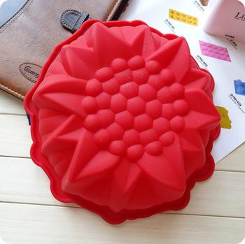 Счастливые подсолнечника силиконовые формы торт хлеб плесень большой плесень! супер красиво