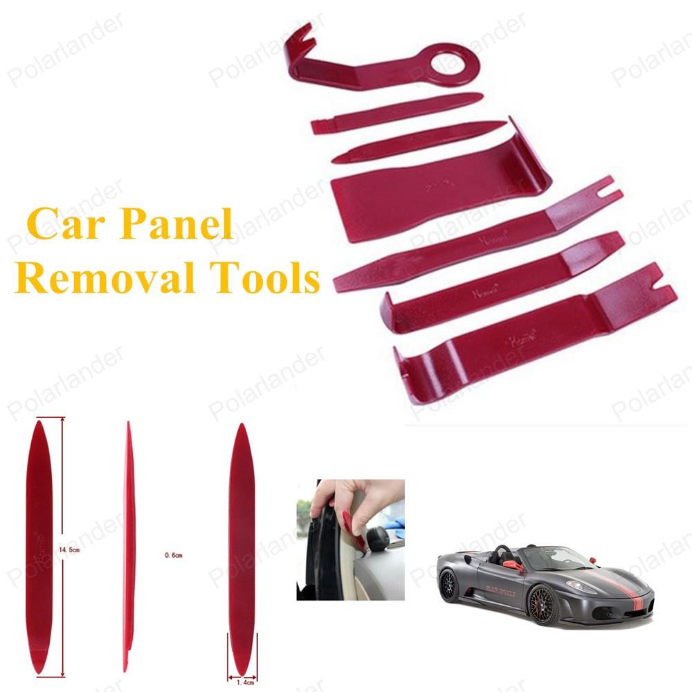 7 шт./компл. авто-радио панели обивки двери ремкомплект инструмент полный комплект ремонт автомобилей