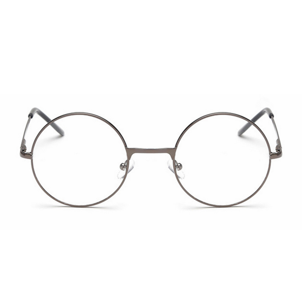 Clear Frame Personality Glasses :  OUTEYE Vintage Round Reading Glasses ? Metal Metal Frame ...