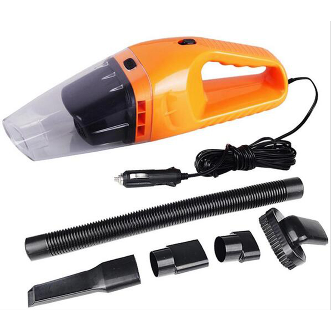 Autos Parts Portable Car Vacuum Cleaner Wet And Dry Dual-Use Super Suction 5Meter 12V 120W(China (Mainland))