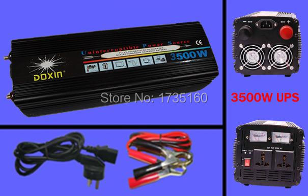 DHL Free Shipping UPS 3500W Car Power Inverter Adapter With 20A Charger Power 70000 Watt Modified Sine Wave Power Inverter<br><br>Aliexpress