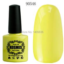 Kosmes 90546 10ml On Sale Manicure Nail Sticker Soak Off Nail Kit Gel Gel Paint Pro Vanish Polish UV Polish Gel