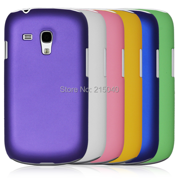 Free Shipping! Rubber Matte Hard Back Case for Samsung Galaxy S3 mini i8190, Frosted Cover for Samsung i8190, SAM-013