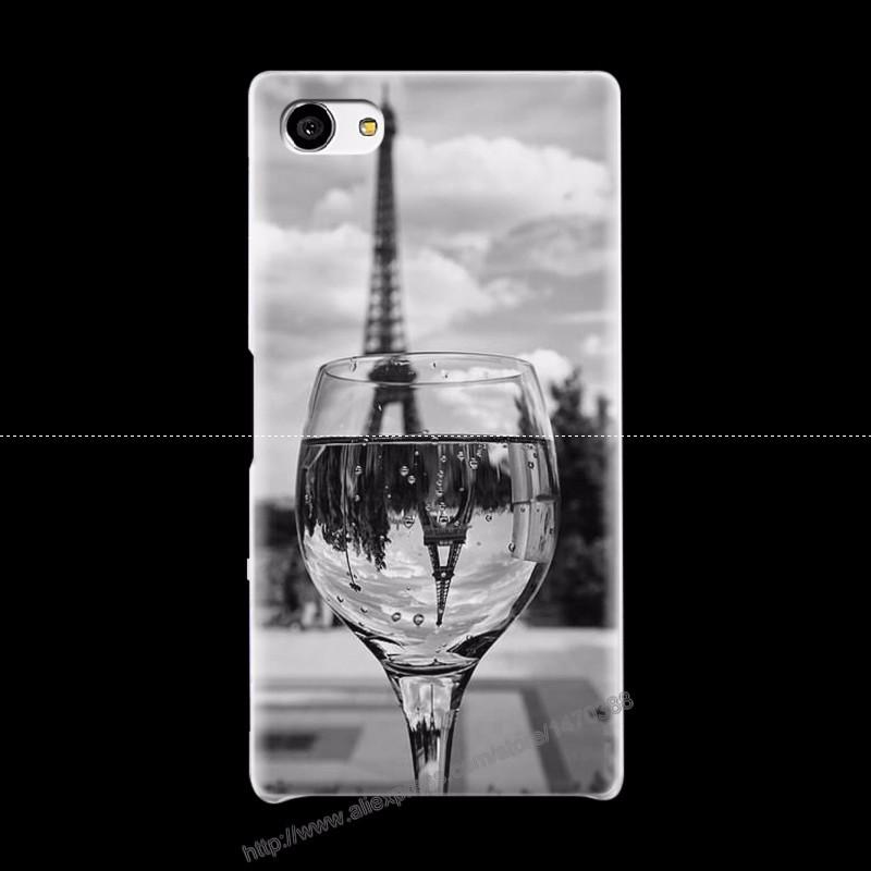 Горячие Новые Пластиковые Матовый Прозрачный Чехол для Sony Xperia Z5mini телефон 13
