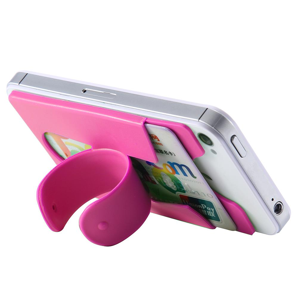 Universal Mobile Phone Holder Portable Touch U Stand Card Cover For iPhone Huawei Samsung Xiaomi HTC LG Holder Cell Phone Case(China (Mainland))