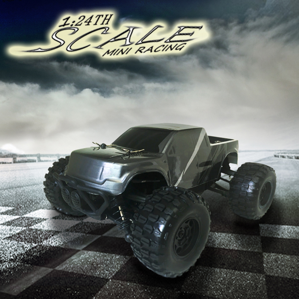 New Mini Car HBX2138 2.4G 2WD High Speed Off-Road vehicle RC Truck 1/24 Scale(China (Mainland))