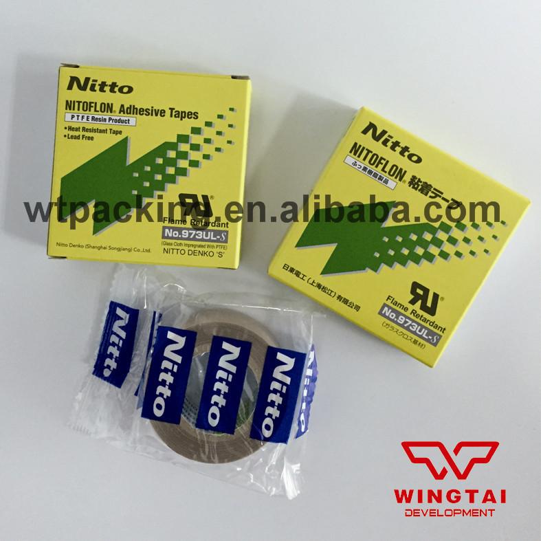 30 Pcs Japan Nitto Denko Nitoflon Silicone Adhesive Tape Fiber Glass Cloth Tape T0.13mm*W19mm*L10m(China (Mainland))