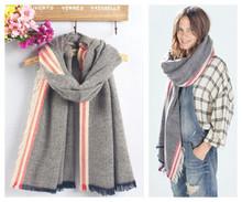 Za genuine Major brand Unisex fashion Tartan scarfs Plaid Stripe Scarf cuadros popular women's big size scarves Shawls
