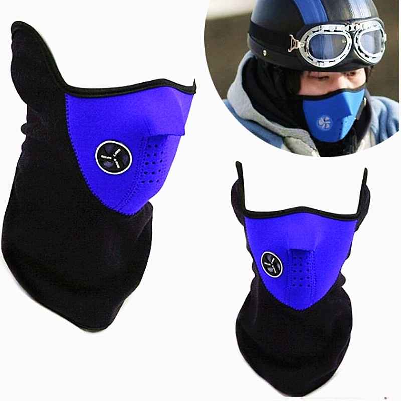 Sport Mask New Neck Warm Half Face Mask Windproof Winter Sport ride Bike Cycling mask Ski mask Outdoor dust cap(China (Mainland))
