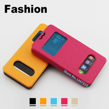 Blackview a6 Ultra case cover Leather New wave flip case for Blackview Ultra a6 case Universal Window Blackview a6 Ultra 4.7