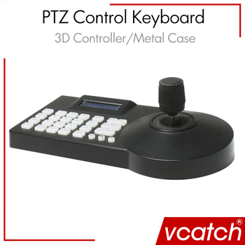 Vcatch CCTV Surveillance 3D Control Keyboard for PTZ Camera Security Camera Keyboard Controller + Free Shipping