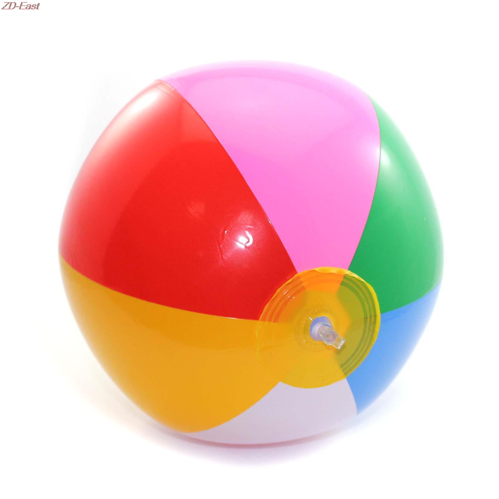 2016 New Funny Kids Swimming Pool Beach Playing Water Game Toy Inflatable Rubber Ball kids toys(China (Mainland))