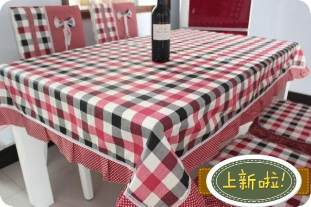 Red DRAGONFLY dining table cloth rustic lace cloth 9 1 triangle set ...