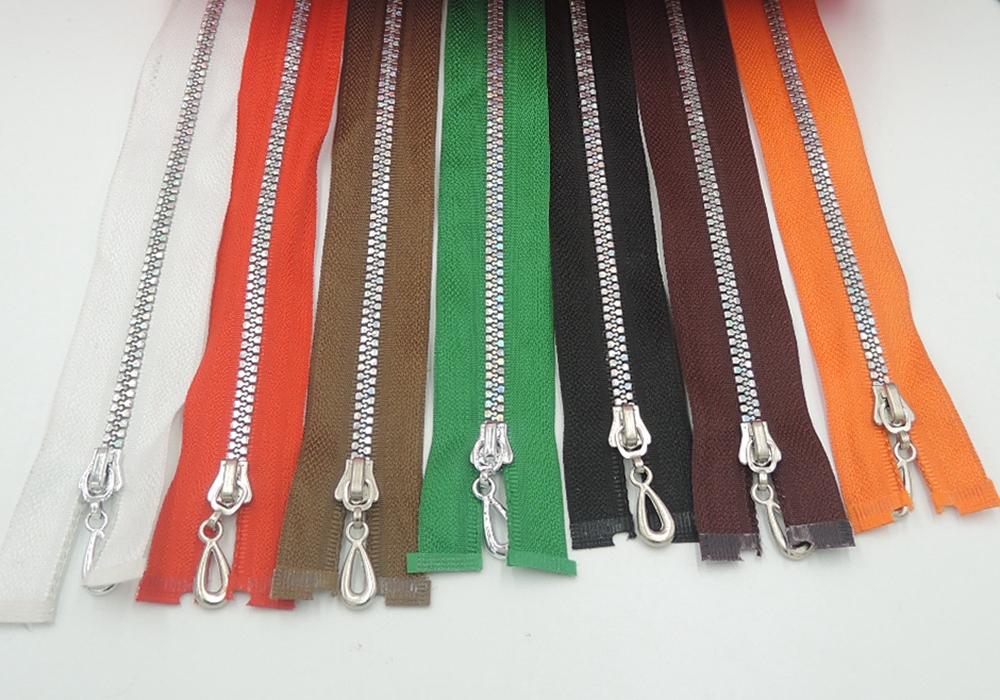 20Pcs 5# Resin Zipper Down Jacket Zipper Open End Zipper Clothing Accessories 60cm Length(China (Mainland))