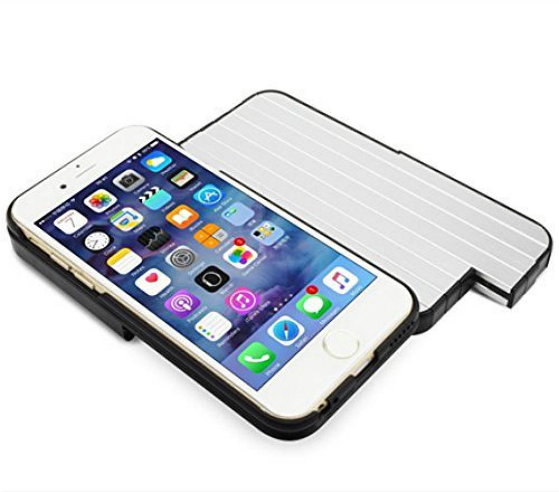 Selfie stick case for Iphone 6S Plus 14cm Phone Case Magic Sticks anti gravitation Fall Selfie sticker