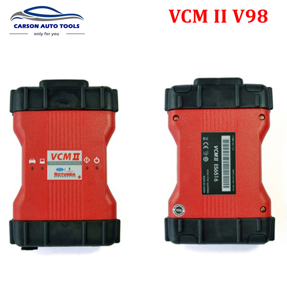2016 Best VCM2 V98 Diagnostic Scanner For FD VCM II IDS Support Landrover v143 cars Vehicles IDS VCM 2 OBD2 Scanner(China (Mainland))