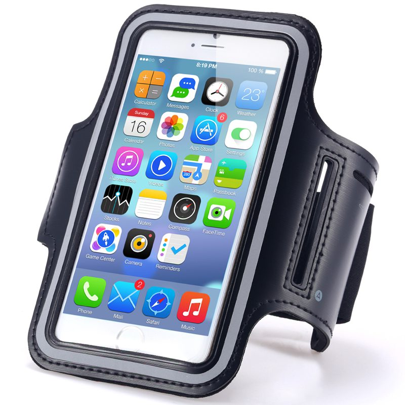 Gym Activities Accessories Running Pouch Cover For Apple iPhone 7 Plus/6 Plus/6S Plus 5.5 inch Waterproof Sport Armband Case(China (Mainland))