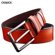 Buy New 2017 Casual Mens Belt Luxury Pin Buckle Belt Men Fashion All-Match Cow Split Leather Designer Brand Belts Men's for $10.86 in AliExpress store
