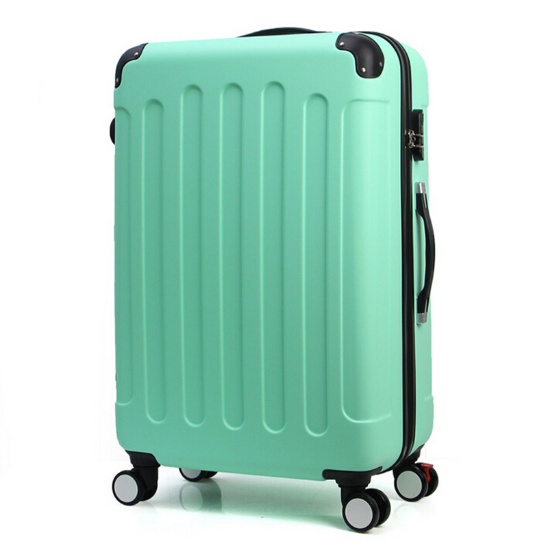 Hot Selling 7 Colors 20,24 Inches Man Women Trolley Travel Bags Spinner Wheels Boarding Suitcases Rolling Luggage