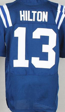 Best quality jersey,Men's 1 Pat McAfee 12 Andrew Luck 13 T.Y. Hilton 81 Andre Johnson 87 Reggie Wayne elite jersey,White,Blue(China (Mainland))