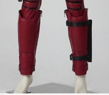 Marve Comics X-Men Deadpool shin guards deadpool leg band leg warmer cosplay accessories