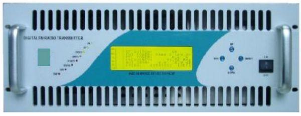 2KW FM Transmitter radio broadcast equipment Compact Size