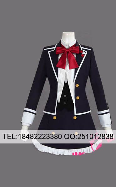 Anime Custom Make Diabolik Lovers Cosplay Komori Yui Party Dress CostumeОдежда и ак�е��уары<br><br><br>Aliexpress