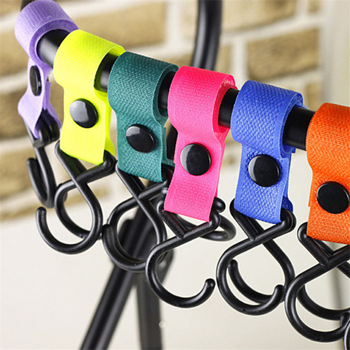 Newly Design 4 Pcs Baby Stroller Hook Front Imported More Firmly May12(China (Mainland))