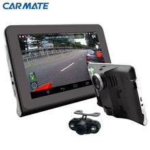 Новый 7 дюймов android-автомобильный GPS навигация заднего вида камера заднего вида 1080 P автомобильные видеорегистраторы грузовик GPS AVIN FM навител / карта европы