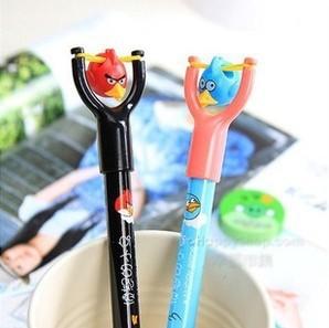 10pcs/lot Ballpoint pen Cute kawaii pens canetas slingshot design Office accessories caneta material escolar WJ-YZB-26(China (Mainland))