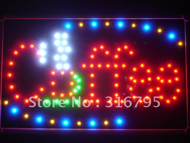 led009-r Coffee Cup Cafe LED Neon Business Light Sign Wholesale Dropshipping(China (Mainland))