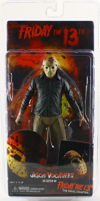 """NECA FRIDAY THE 13TH THE FINAL CHAPTER JASON VOORHEES 7"""" ACTION FIGURE"""
