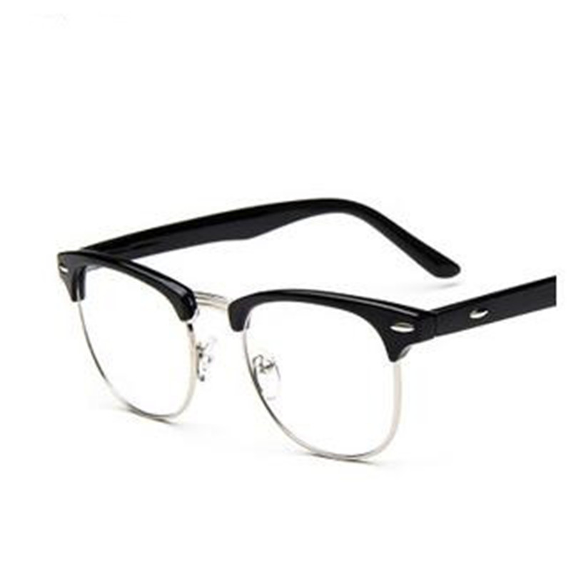Classic Italy Design Women and Men Eyewear Half Frame Optical Glasses for Prescription and Decoration(China (Mainland))